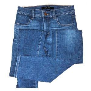 Denim Skinny Jeans. Medium Wash. J Brand.